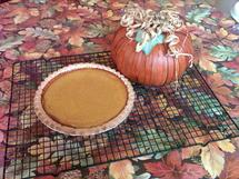 Honey Pumpkin Pie photo by Donna E.